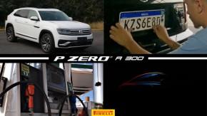 Volkswagen Atlas Cross Sport em versão de produção, placas Mercosul suspensas em MG, gasolina segue em queda nos postos e mais!