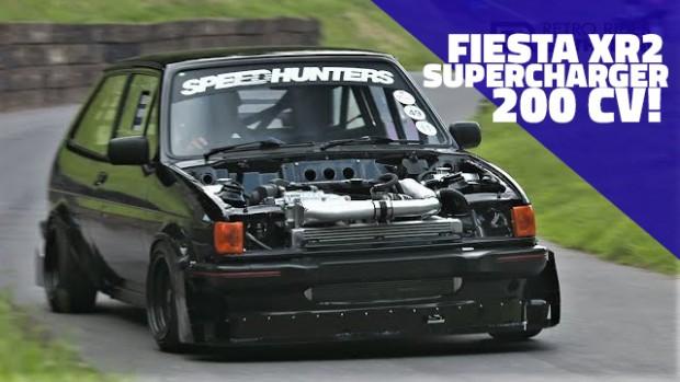 Este Ford Fiesta XR2 com motor Duratec supercharged de 200 cv é um monstrinho que sobe montanhas
