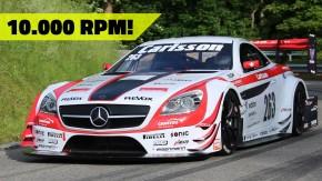 10.000 rpm: o ronco absurdo dos Mercedes-Benz com motor V8 Judd de Reto Meisel