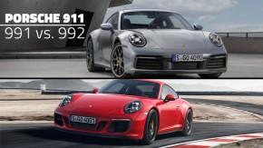Porsche 992 vs. Porsche 991.2: o que mudou (e quanto mudou) na nova geração do 911?