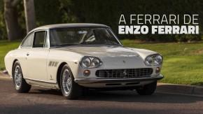 Esta é a Ferrari 330 GT Series I do próprio Enzo Ferrari – e ela está à venda