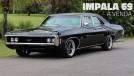 Este Chevrolet Impala 1969 com motor V8 e câmbio manual na coluna está à venda