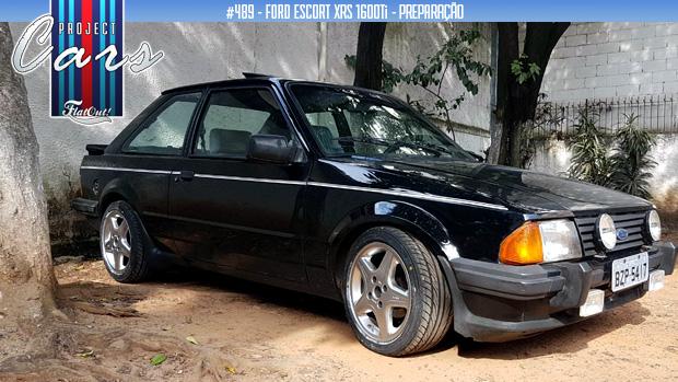 Project Cars #489: o início da preparação do meu Ford Escort RS 1600 turbo injetado