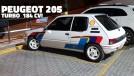 Procurando um hot hatch francês? Este Peugeot 205 turbo de 184 cv está à venda!