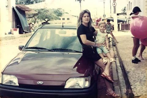 Eu, minha mãe e o Fiesta