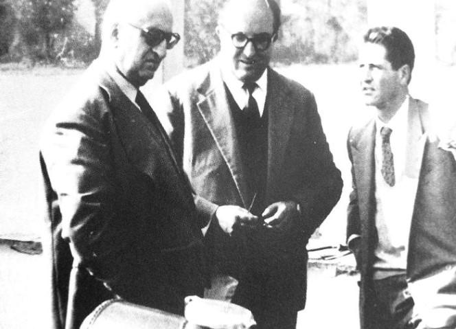 Enzo Ferrari, Carlo Chiti e Giotto Bizzarrini
