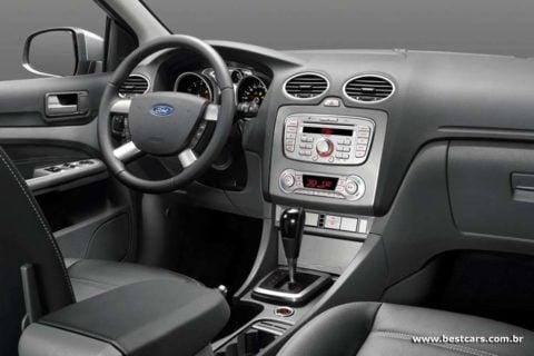 Interior do Focus Ghia